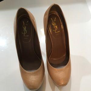 Yves Saint Laurent Patent Leather Heels